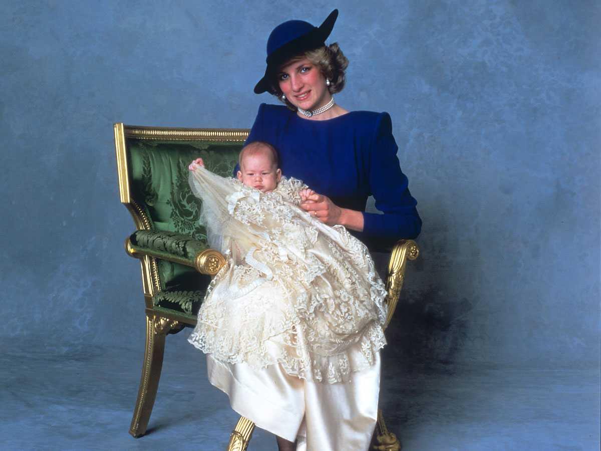 Архивные фото британской королевской семьи