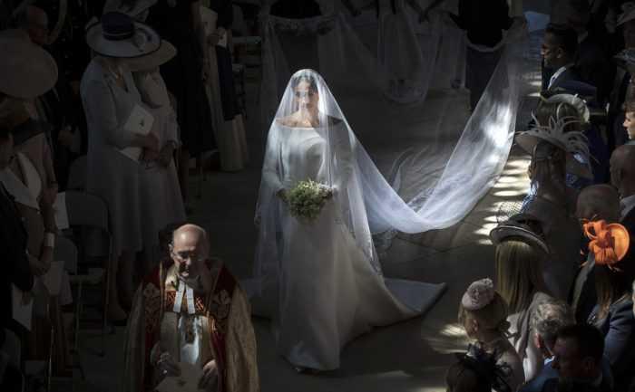 Секретные детали в свадебном образе Меган Маркл